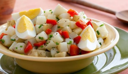 Potato-Egg Salad (Ensalada de Papas y Huevos)