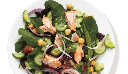 Salmon and Arugula Salad