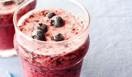 Blueberry Almond Smoothie