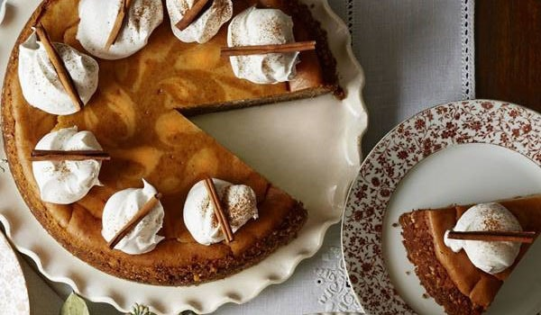 Spiced Pumpkin Latte Cheesecake