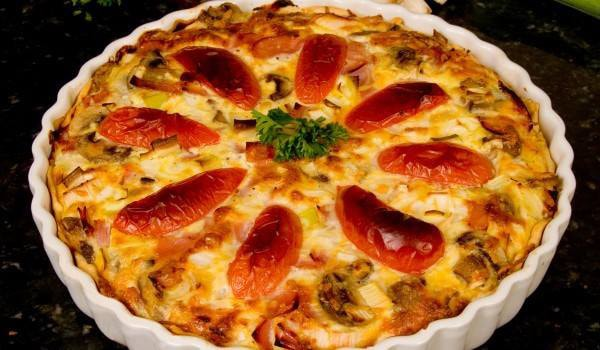 Sausage and Cheese Bake