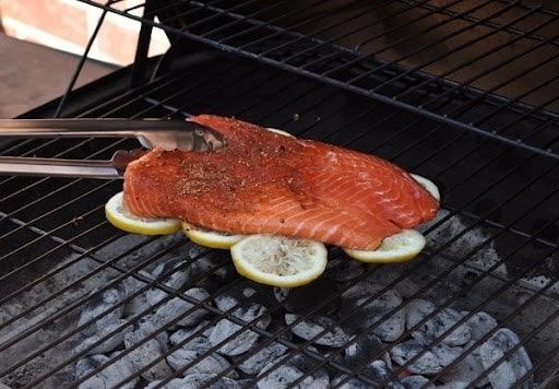Grill Your Fish on a Bed of Lemons