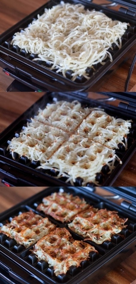 Use Your Waffle Iron to Make Perfect Hash Browns Every Time